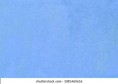 blue wall with textured plaster