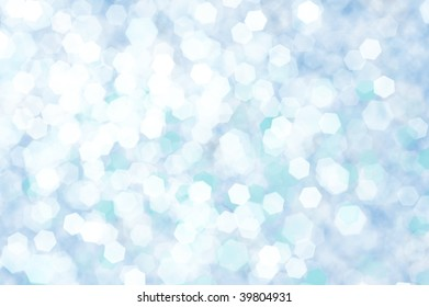blue wallpaper illustration with abstract shapes, splashes and flashes