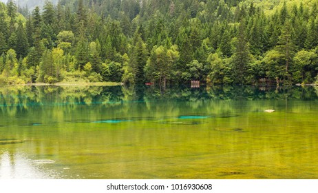 Blue Water in Jiu Zhai Gou Valley