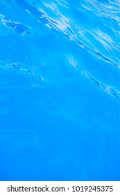 Blue Water Surface , Water Background