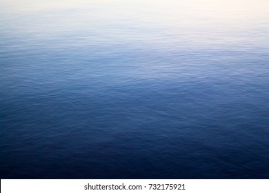 Blue water surface for background or texture.