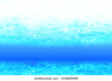 Blue Water surface, underwater background  - Shutterstock ID 1936830400