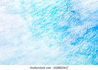 blue watercolor splash stroke background