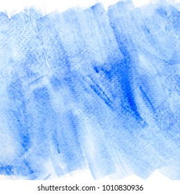 blue watercolor splashing stroke background.art by painted image