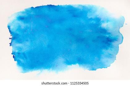 blue watercoor background