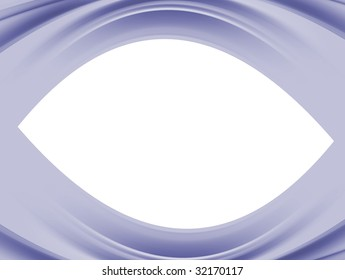 blue wave on white background, Abstract illustration
