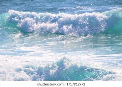 Blue Waves in beautiful Cyprus