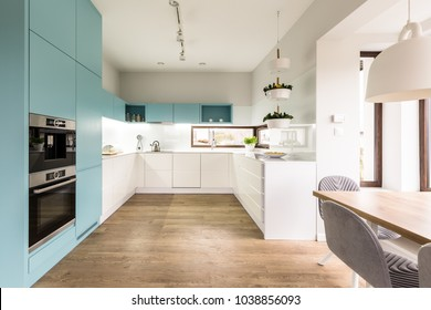 Turquoise Kitchen Images Stock Photos Vectors Shutterstock