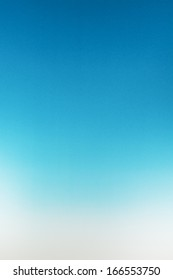 Blue to White Gradient Paper Texture Background
