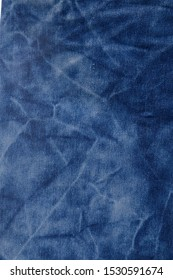 Blue and white jean fabric texture and background