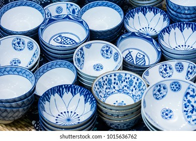 Blue and white porcelain / daily ceramic dishes