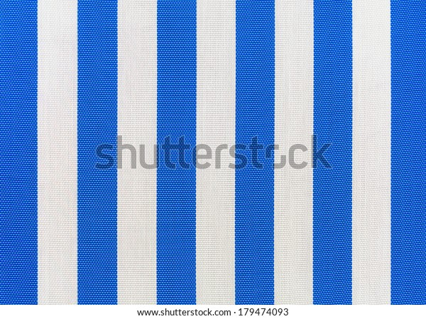 Admirable Blue White Striped Fabric Outdoor Lounge Stock Photo Edit Dailytribune Chair Design For Home Dailytribuneorg