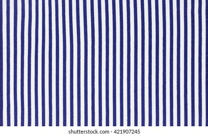 blue and white stripes fabric background and texture