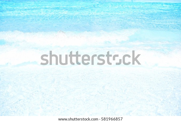 Blue and white waves background