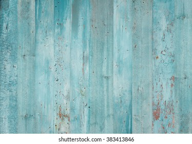 Blue wood background. Grunge texture