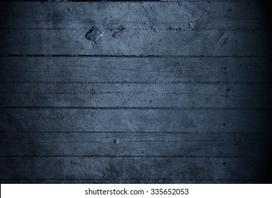 Blue wood background. Rustic background