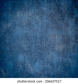 Blue wood background and texture