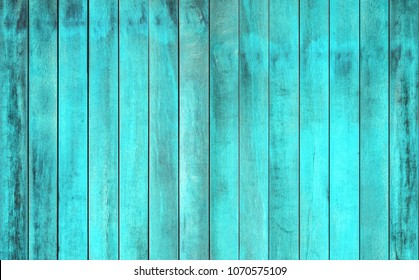 Blue wood panel has a smooth background. Old hardwood texture with vintage texture. Background view top