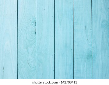 Blue wood panels used as background