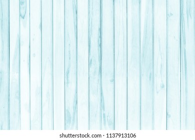 Blue wood plank background on summer. Sweet color wooden texture wallpaper. plywood or hardwood paint board. Wall all antique cracking furniture painted weathered white vintage peeling.