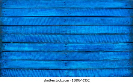 Blue wooden background.Vintage.Retro.