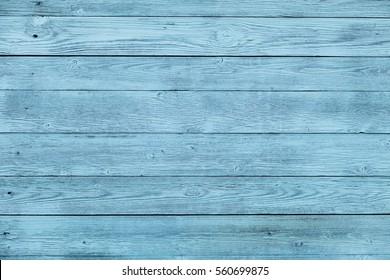 Blue wooden board