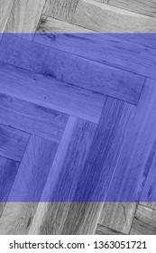 blue wooden parquet texture
