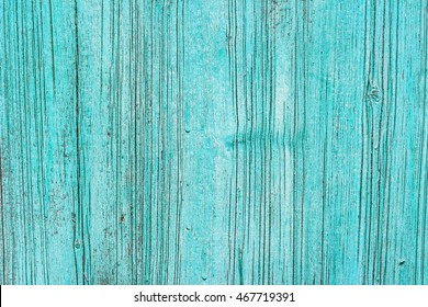 Blue wooden texture background with cracks