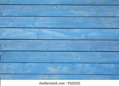 blue wooden wall pattern