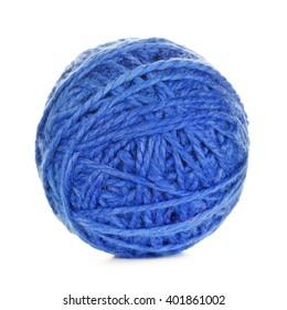 Blue Yarn Ball