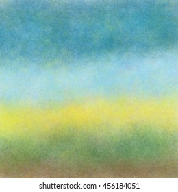 Blue yellow green abstract horizontal background