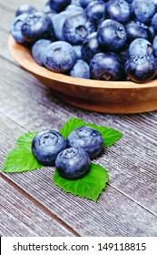 blueberries background,rich harvest of blueberries