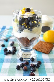 Blueberries vegan gluten free food pudding and cookies