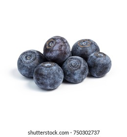Blueberries,Blueberries on white background
