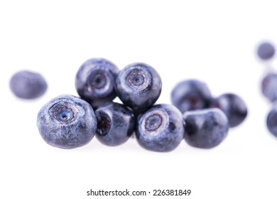 blueberry berry isolated on white background