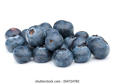 blueberry or bilberry or blackberry or blue whortleberry or huckleberry isolated on white background cutout