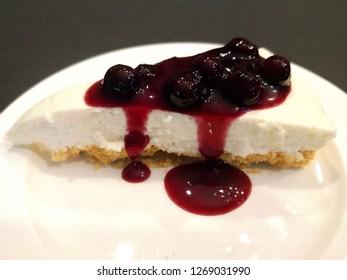 Blueberry Cheese Pie