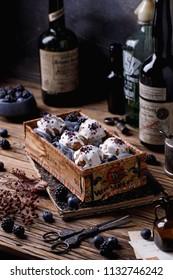 Blueberry handmade muffins