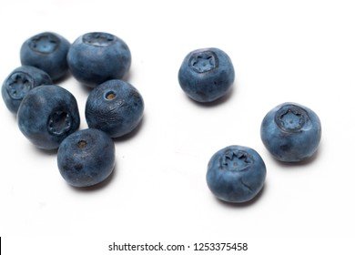 blueberry mix on the board