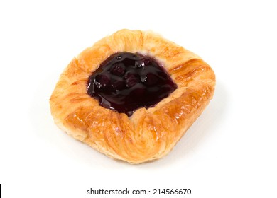 Blueberry Pie isolate on white background