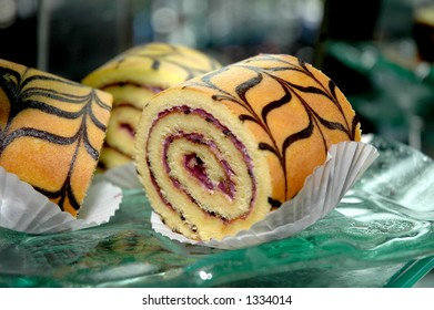 Blueberry Roll