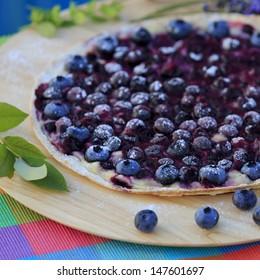 Blueberry tarte