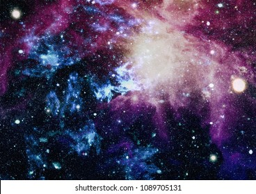 Bluebird Galaxy - Elements of this Image Furnished by NASA
