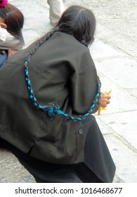 The Bluebraid Woman