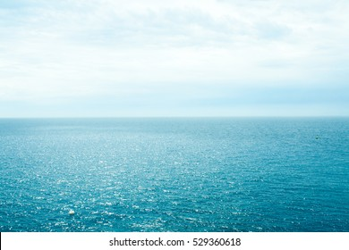 Blue-green sea