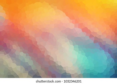 Blue-orange blurry abstract background for graphic design