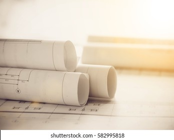 Blueprint for construction and operation of the structural design and cost estimate for the construction of residential houses and light fair.
