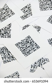 Bluetooth Barcode and QR Code Scanner - scan QR and Barcode in paper. QR Code - contain no data, insulting words, names, links to websites or products.