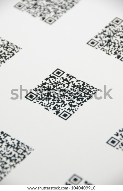 Bluetooth Barcode Qr Code Scanner Scan Stock Photo (Edit Now) 1040409910