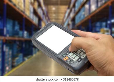 Wireless Barcode Scanner Images, Stock Photos & Vectors